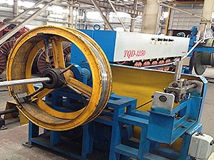 Corrugated Chain Armoring Machine